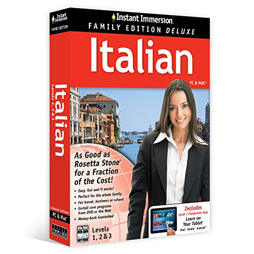Learn Italian  Instant Immersion Family Edition Language Software Set    2016 Edition