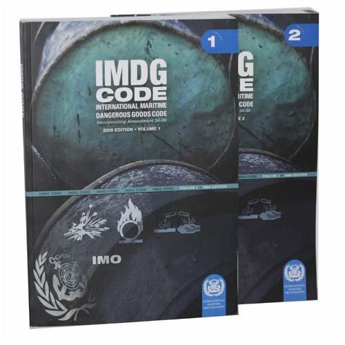 IMO International Maritime Dangerous Goods Code (Amendment 34-08 2008-2010., 2 book Set (Vol. 1 & 2))