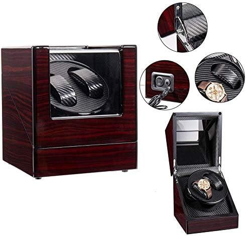 ワインディングマシーン 自動ウォッチは、自動時計用ボックスメカニカルウォッチボックス耐磁時計2ストレージボックスウォッチワインダーワインディング 時計 自動巻き ケース