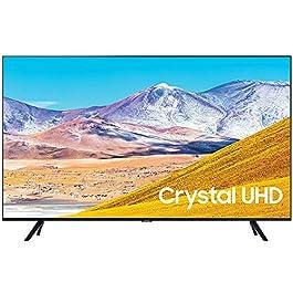 SAMSUNG UN65TU8000 65″ 4K Ultra HD Smart LED TV (2020 Model) w/Deco Gear Soundbar Bundle