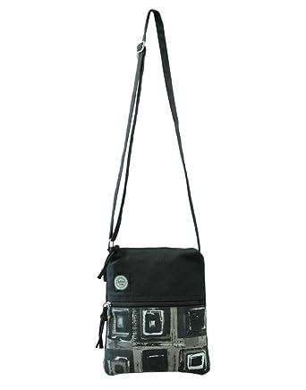 Anekaant Women'S Sling Bag ( Black,Adb3034J): Amazon.in: Shoes ...