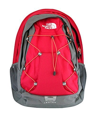 The North Face womens Jester Laptop Backpack BOOK BAG ROSE RED
