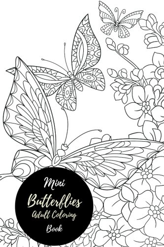 Mini Butterflies Adult Coloring Book product image