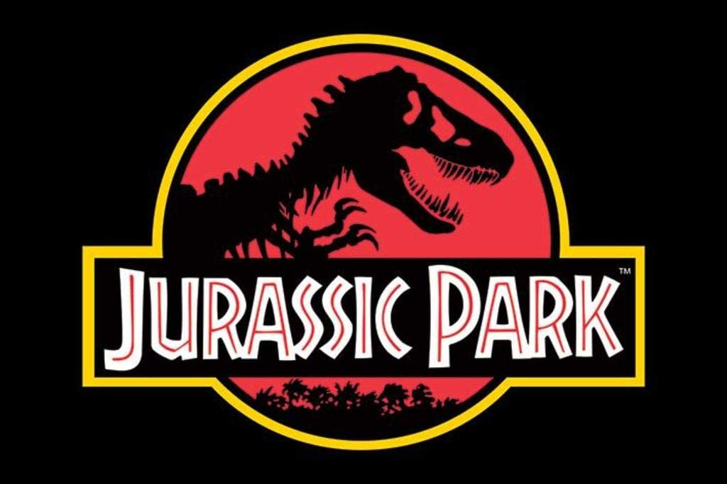 "Jurassic Park - Movie Poster/Print (Classic Logo) (Size: 36"" x 24"")"