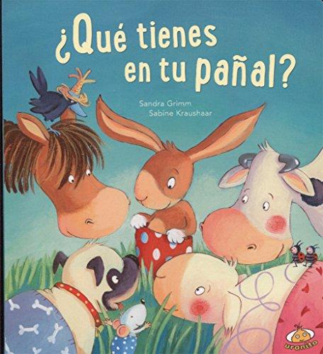 Qué tienes en tu pañal? (Spanish Edition) by Urano