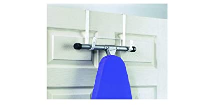 Attirant Over The Door Ironing Board Holder Hanger New