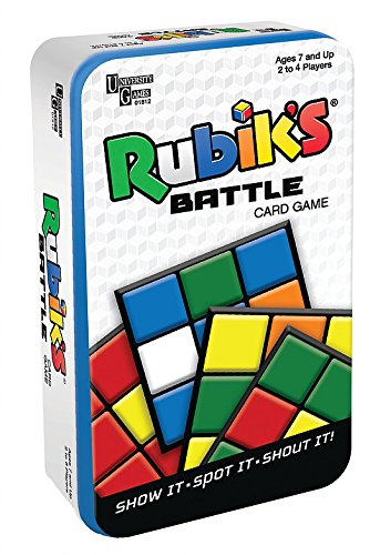 University Games Rubik's Battle Card Game (Tin)