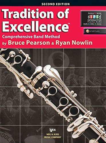 W61CL - Tradition of Excellence Book 1 - Bb Clarinet (Sam Ash Clarinet)