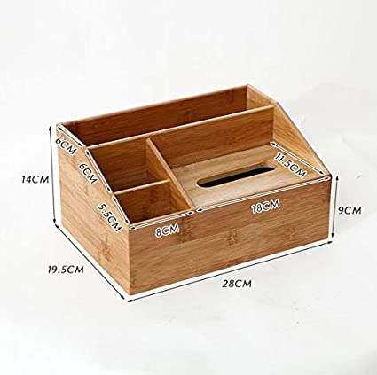 Beau ZZSIccc Simple Desktop Storage Box Bamboo Solid Wood Creative Remote  Control Storage Tissue Box Multi