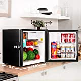 TACKLIFE Mini Fridge Quiet, Compact Refrigerator