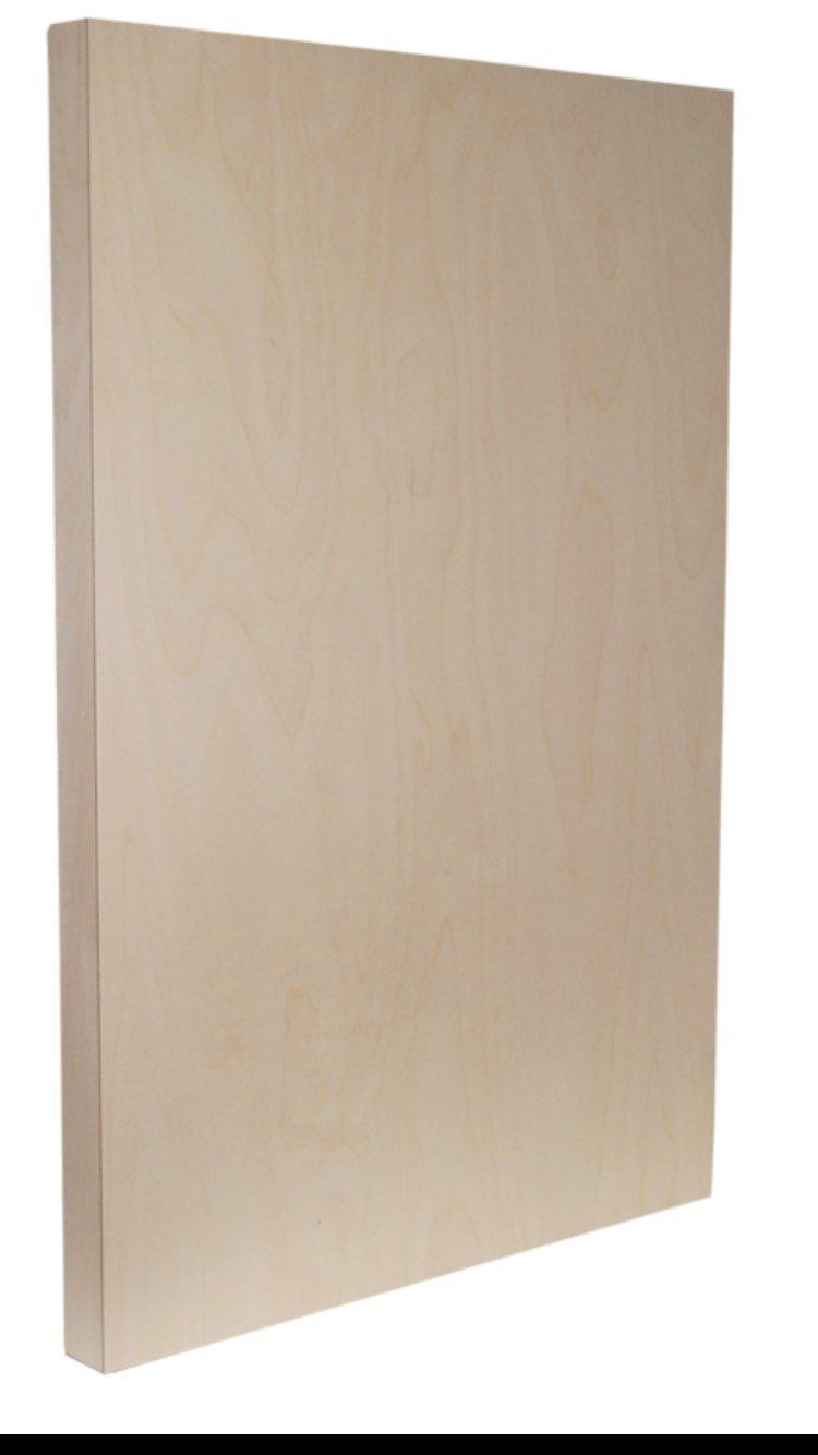 Sunbelt Mfg. Co. 6 Pack of 2'' deep Cradled Painting Panels. (Multiple Sizes) (16x20x2'')