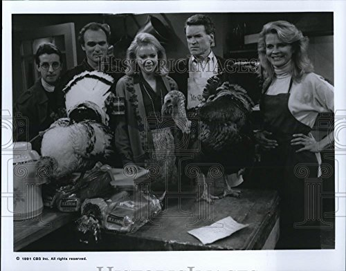 1991 Throw one's arms about Photo Grant Shaud Joe Regalbuto Faith Ford and Charles Kimbrough