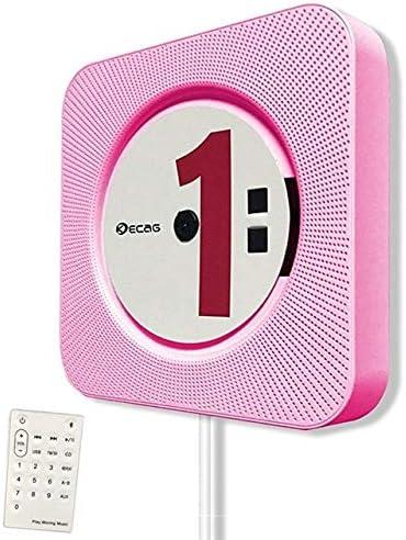 DZSF Reproductor de CD Caja de Audio portátil para el hogar Bluetooth montable en la Pared con Control Remoto Radio FM Altavoces de Alta fidelidad incorporados MP3,B: Amazon.es: Deportes y aire libre