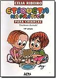 capa de Etiqueta Na Prática Para Crianças