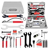 Odoland Bike Repair Tool Kits, 44 Piece Bicycle Tool Kit for Mountain/Road Bicycle Repairs, Multifunction Tool and Torque Wrench, Maintenance Tool Set with Storage Case
