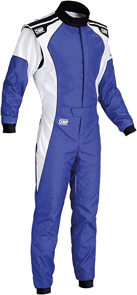 OMP KS-3 Kart Suit KK01723 (Size: 56, Blue/White)