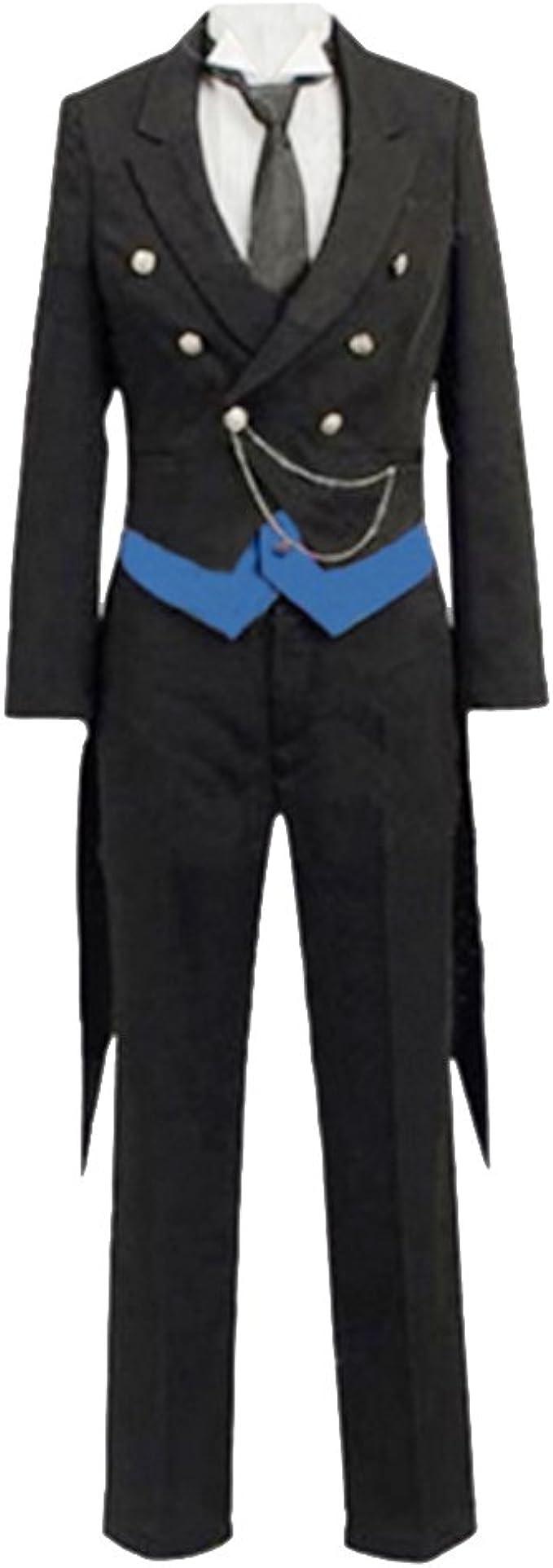 Papa Panda Disfraz Para Black Butler Sebastian Traje de manga ...