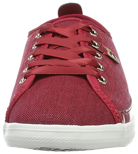 Tommy Hilfiger K1285eira Hg 1d1, Zapatillas para Mujer Rojo (Scooter Red 614)