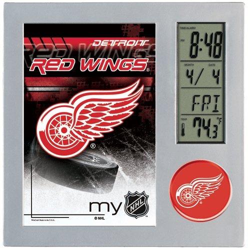 NHL Detroit Red Wings 0885071 Desk Clock