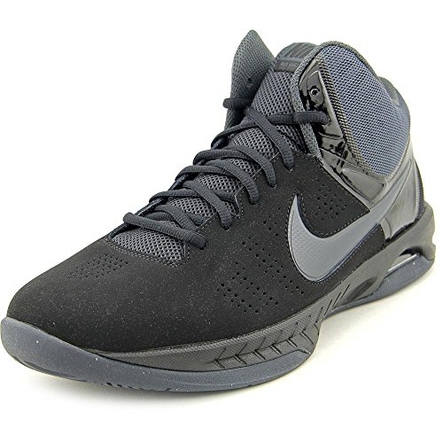 Nike Mens Air Visi Pro Vi Nbk Black/Anthracite Ankle-High Nubuck Basketball Shoe - 11M ()