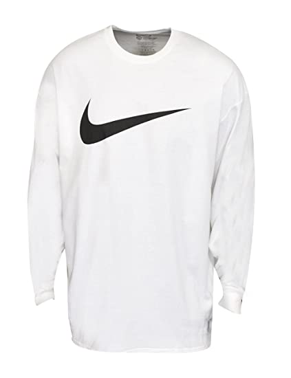 92a0cf274951 Amazon.com  Nike- Icon Swoosh Long Sleeve Shirt White Size XXXL  Clothing