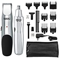 Wahl Model Rechargeable Beard, Mustache, Hair & Nose Hair Trimmer