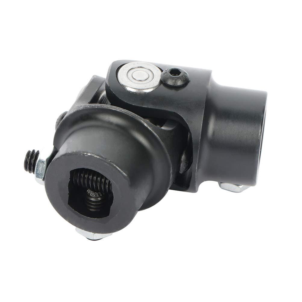 ROADFAR 3//4-36 Spline X 3//4 DD Steering Universal U-joints Black single Steering Shaft U Joint