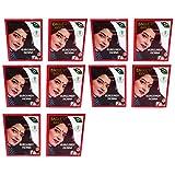 Eagle's Gold - Burgundy Henna Hair Colour / Color Dye Powder Unisex 10 Boxes (60pcs X 10g)