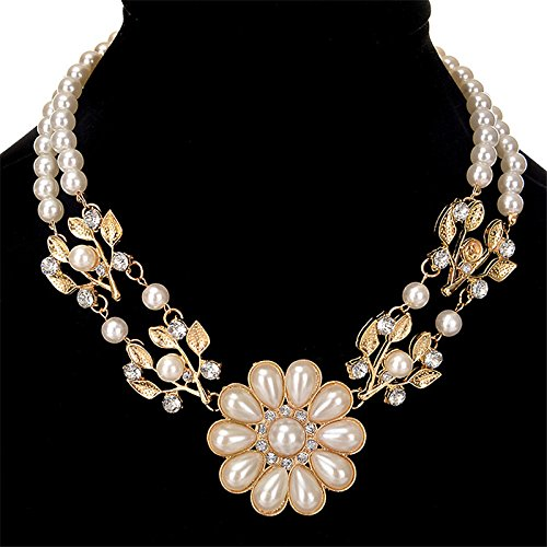 Wicemoon Pearl verlässt Kurze Halskette kreative Persönlichkeit Halskette Schmuck Geschenk