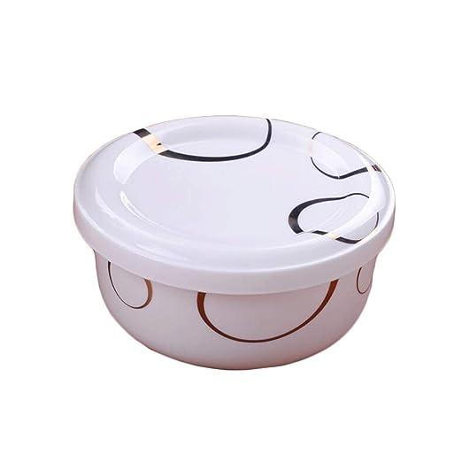 ZL-Porta alimentos Recipiente de Porcelana con Tapa ...