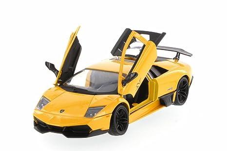 Amazon Com Lamborghini Murcielago Lp670 4 Sv Yellow Motormax