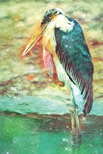 Notes: Marabou Stork - Blank College-Ruled Lined Notebook (Student Animal Journals for Writing Journaling & Note-taking) ()