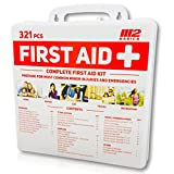 M2 BASICS 321 Piece Emergency Survival First Aid