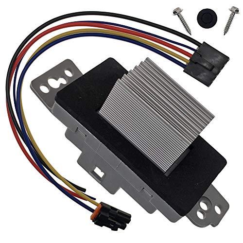 03 gmc blower motor resistor - 6