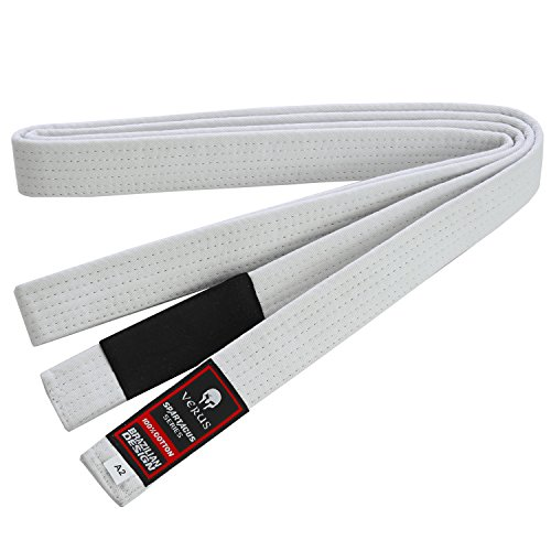 Brazilian Jiu Jitsu VERUS Belts (White, (Brazilian Jiu Jitsu Purple Belt)
