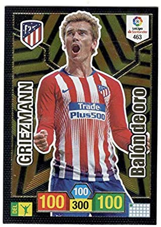 Panini Griezmann Balón de Oro Adrenalyn XL 2018 2019: Amazon.es ...