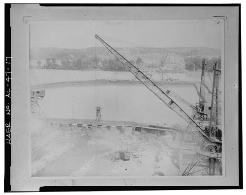 (HistoricalFindings Photo: Wilson Dam & Hydroelectric Plant,Muscle Shoals,Colbert County,Alabama,AL,HAER,15)
