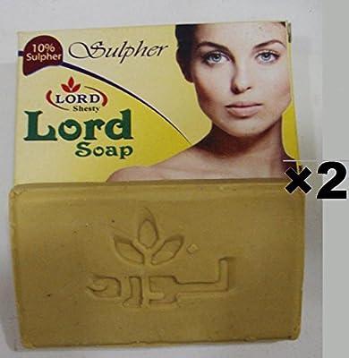 2 pcs 10% SULFUR SOAP Cleansing Soap Anti Bacteria Moisture Dead Sea Handmade