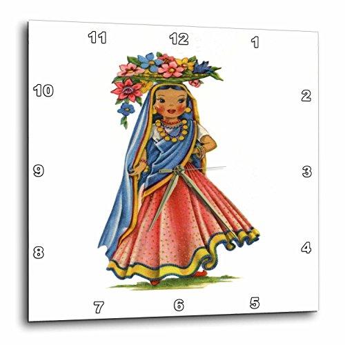 3dRose Print Retro Doll India