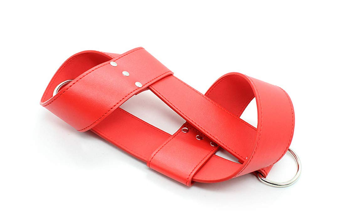 FELICIOO Restricción combinada erótica Esposas Productos para Puertas Colgantes Portátil Encuadernadora móvil Productos Esposas para Adultos (Color : Black) 18154e