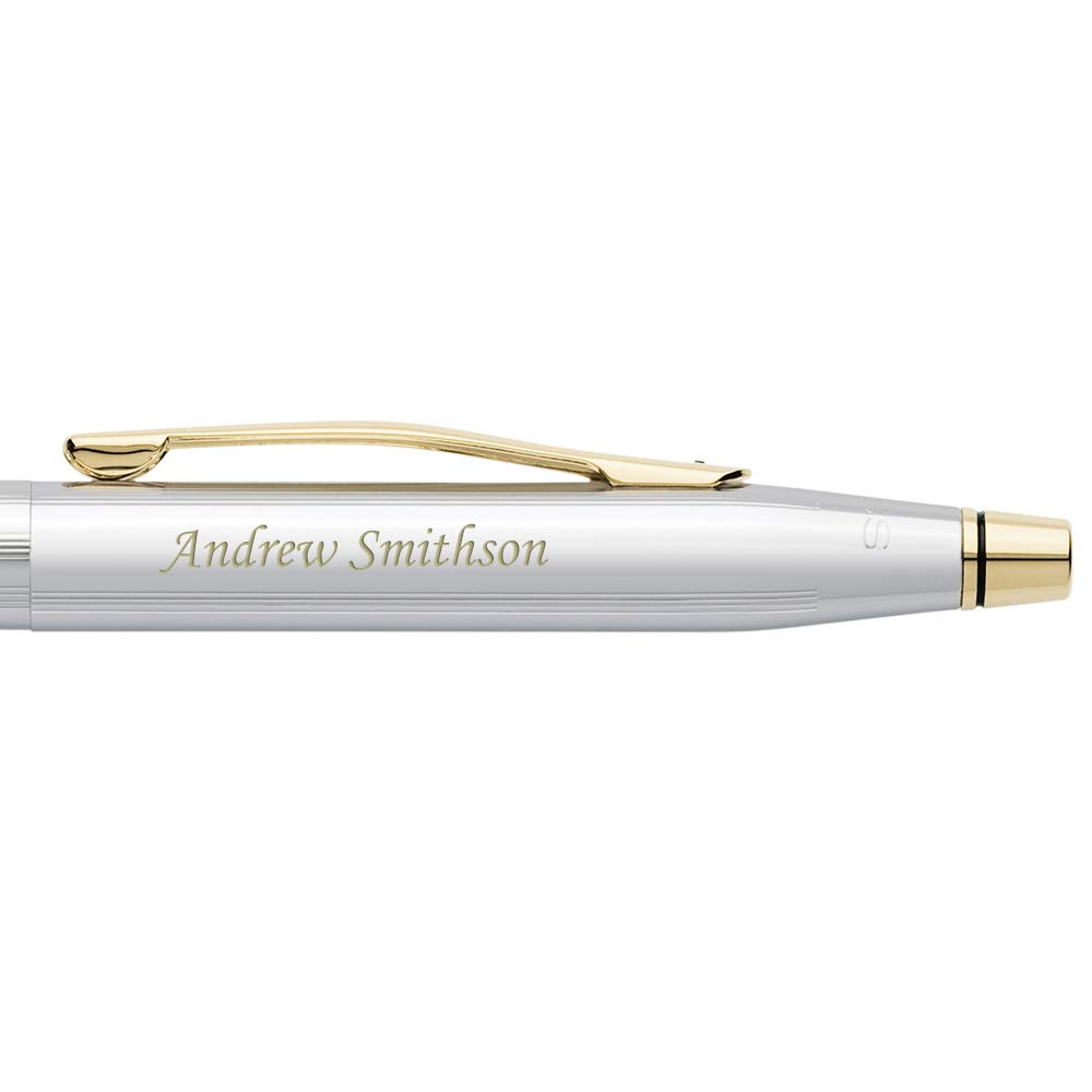 Dayspring Pens | Engraved/Personalized Medical Doctors Caduceus Emblem Gift Pen - AT Cross Classic Century Medalist Ballpoint. Custom Engraving Included. by Dayspring Pens (Image #4)