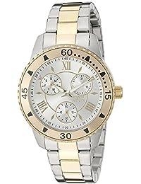 Women's 21770 Angel Analog Display Quartz Two Tone Watch