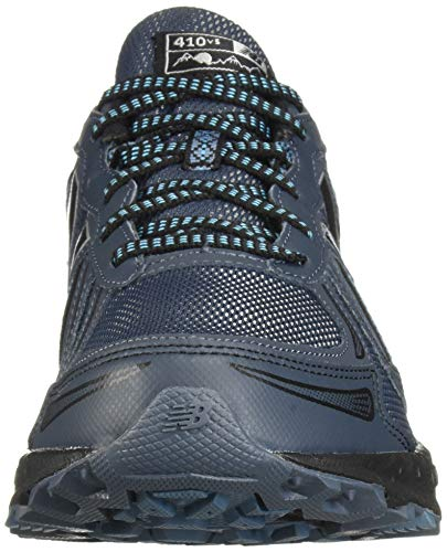 New Balance Men's 410v5 Cushioning Trail Running Shoe, Petrol/Cadet/Black, 7.5 D US by New Balance (Image #4)