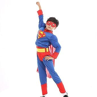 e281dd3c25a21a S&C Live ハロウィンコスチューム キッズコスチューム スーパーマンコスプレ3点セット 男の子向き ボーイズ マント