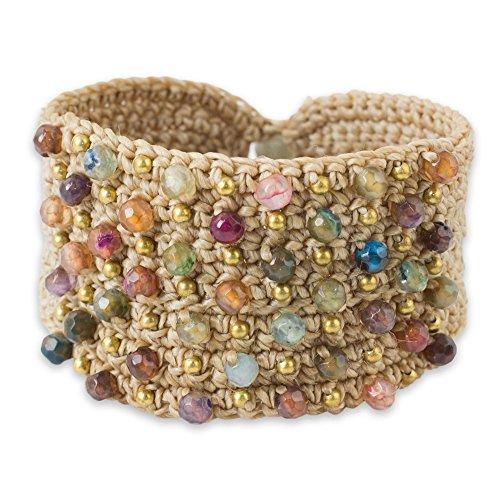 Novica Chalcedony Bracelets - 1