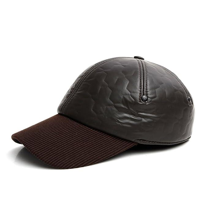 d7231e029eb78 Sombrero de hombre  invierno gorro de lana sombrero de los hombres Casual  gorras en invierno Antiguo sombrero-A ajustable  Amazon.es  Ropa y  accesorios