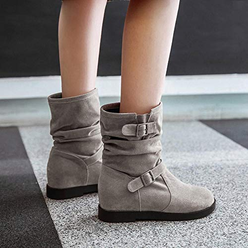 best loved 309f9 88622 Plataforma Planos amp;c898 Inglaterra Botines Botas Talladas Boots Martin  Zapatos Casual De Nieve Calzado Mujer ...