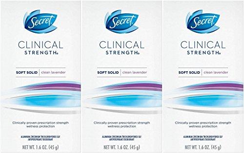 Secret Clinical Strength Antiperspirant Deodorant Solid, Ooh