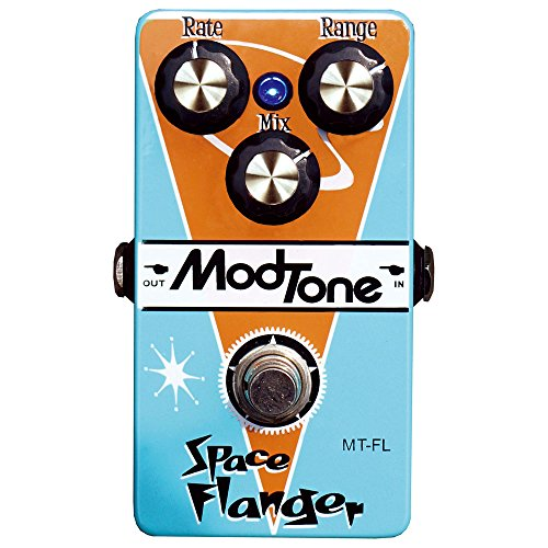 ModTone Guitar Effects MT-FL Space Flanger Bass Flanger Effect Pedal by ModTone Guitar Effects