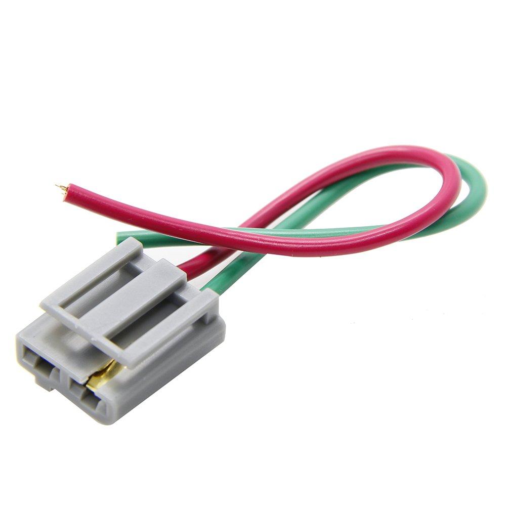 KONDUONE 170072 HEI Distributor Wire Harness Pigtail Dual 12v Power on